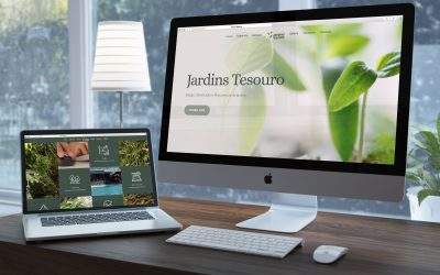 Novo Website Jardins Tesouro